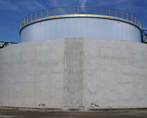 Full scope project - 3 storage tanks