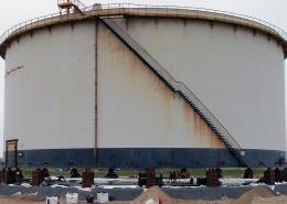Refurbishment of 3 storage tanks